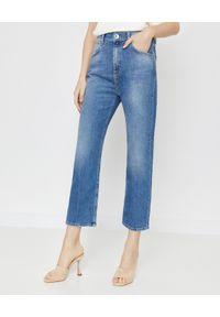 Marella - MARELLA - Błękitne jeansy RSLIM. Okazja: na co dzień. Stan: podwyższony. Kolekcja: dla wysokich. Kolor: niebieski. Styl: elegancki, casual