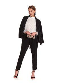 Czarne spodnie TOP SECRET z podwyższonym stanem #6