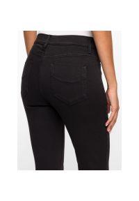 Czarne jeansy slim Marella Sport sportowe