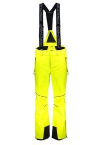 FISCHER Halti Spodnie narciarskie Hans Knauss Yell. Sport: narciarstwo