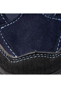 Niebieskie półbuty RenBut z cholewką