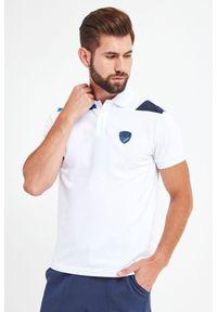 Koszulka polo EA7 Emporio Armani z nadrukiem, polo