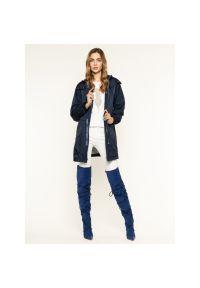Niebieska parka Trussardi Jeans #7