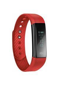 Czerwony zegarek Acme