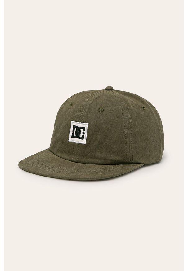 Zielona czapka z daszkiem DC