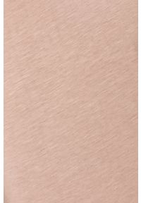 Only & Sons - T-shirt. Okazja: na co dzień. Kolor: różowy. Materiał: dzianina. Wzór: gładki. Styl: casual
