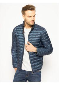 Niebieska kurtka puchowa Geox #7