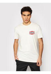 Deus Ex Machina T-Shirt Speed Stix DMP2011372 Biały Regular Fit. Kolor: biały