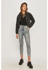 Czarna bluzka Vero Moda casualowa, na co dzień, bez rękawów