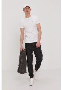 Calvin Klein Jeans - T-shirt (2-pack). Kolor: pomarańczowy. Materiał: dzianina