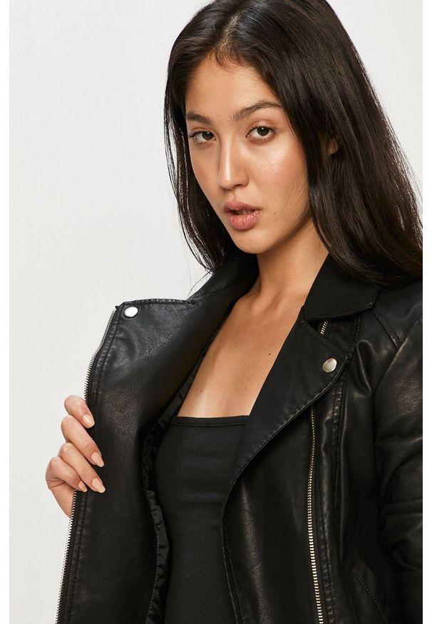 Czarna kurtka Jacqueline de Yong bez kaptura, na co dzień, casualowa