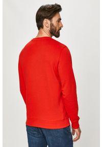 Pepe Jeans - Bluza George. Okazja: na co dzień. Kolor: czerwony. Wzór: nadruk. Styl: casual