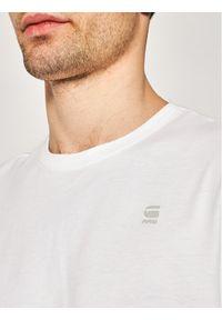 G-Star RAW - G-Star Raw T-Shirt Base-S D16411-336-110 Biały Regular Fit. Kolor: biały