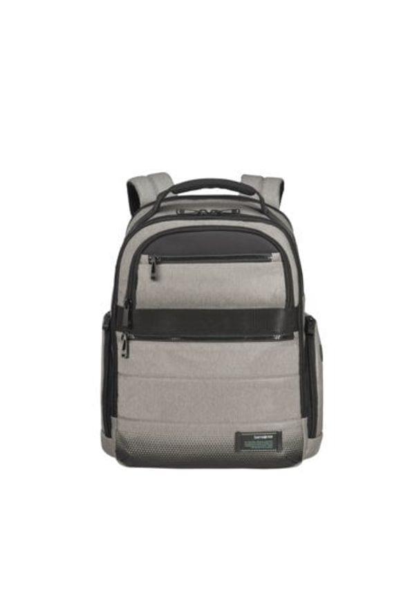 Szary plecak na laptopa Samsonite biznesowy