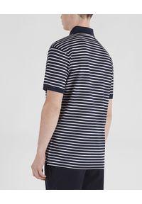 PAUL & SHARK - Bawełniana koszulka polo w paski. Typ kołnierza: polo. Kolor: biały. Materiał: bawełna. Wzór: paski. Sezon: lato, wiosna. Styl: klasyczny