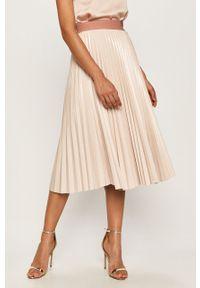 Różowa spódnica TwinSet casualowa, na co dzień