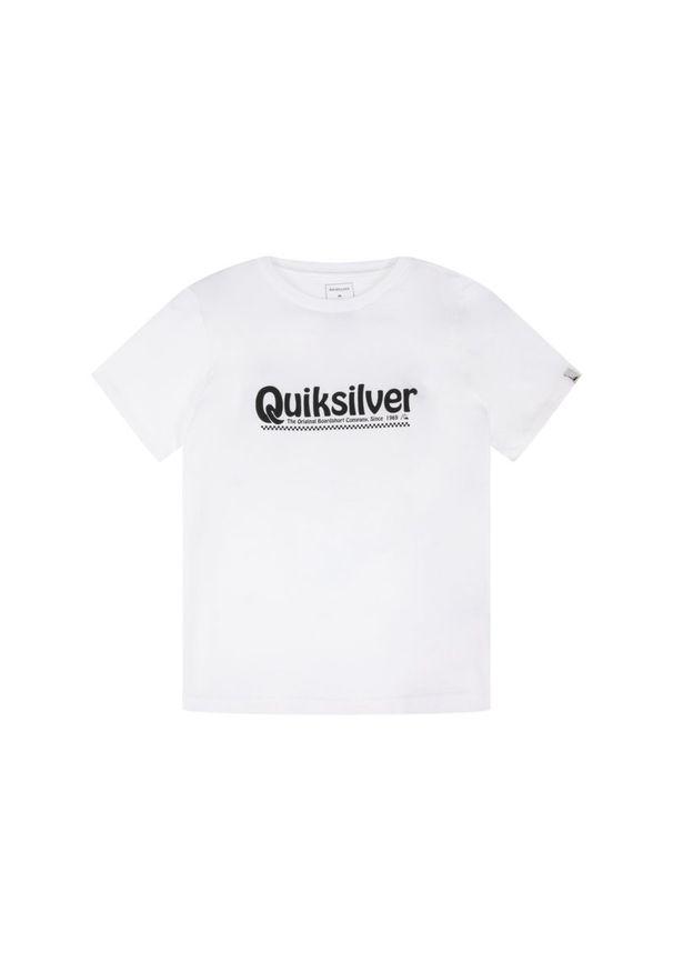 Biały t-shirt Quiksilver