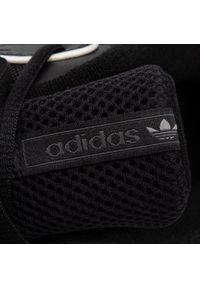 Czarne sneakersy Adidas z cholewką, Adidas Gazelle