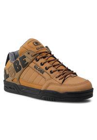 Globe - Sneakersy GLOBE - Tilt Wheat/Black/Winter. Kolor: brązowy. Materiał: skóra ekologiczna, skóra, nubuk. Szerokość cholewki: normalna. Styl: klasyczny