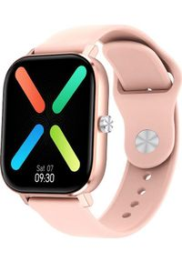 Smartwatch Pacific 20-4 Różowy (PACIFIC 20-4 różowy). Rodzaj zegarka: smartwatch. Kolor: różowy