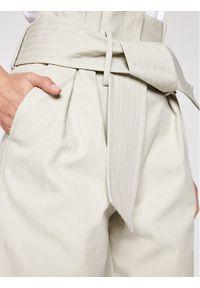 IRO Spodnie materiałowe Ritokie A0035 Szary Regular Fit. Kolor: szary. Materiał: materiał