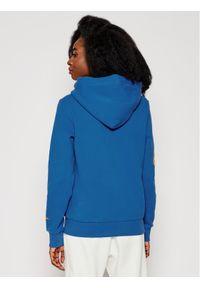 Superdry Bluza Collegiate Cali Graphic W2010919A Niebieski Regular Fit. Kolor: niebieski