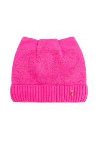 Różowa czapka Jail Jam z aplikacjami