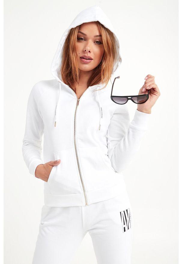 Bluza Armani Exchange elegancka, z kapturem, w kolorowe wzory
