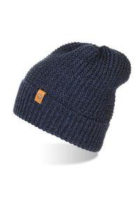 Niebieska czapka BRODRENE na zimę, sportowa