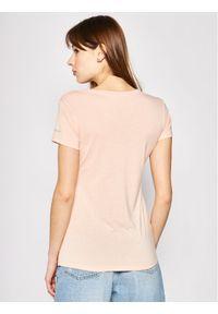 Różowy t-shirt columbia