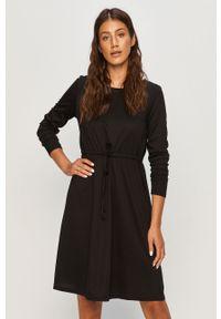 Czarna sukienka Vila casualowa, mini