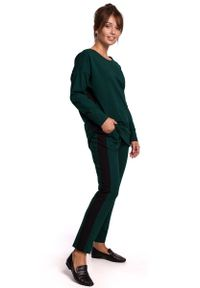 Zielone spodnie dresowe MOE