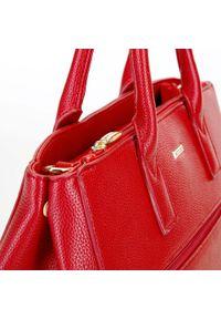 Wittchen - Kuferek o regulowanej szerokości. Kolor: czerwony. Materiał: skórzane. Styl: biznesowy, elegancki