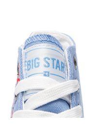Niebieskie trampki Big-Star z cholewką, na co dzień, casualowe