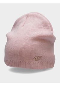 Różowa czapka z daszkiem 4f
