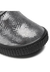 Bartek - Kozaki BARTEK - 1017-ELF0 Srebrny. Okazja: na spacer. Kolor: srebrny. Materiał: skóra, zamsz. Szerokość cholewki: normalna. Sezon: zima. Styl: młodzieżowy