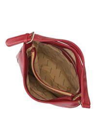 Czerwona torebka worek Wittchen do ręki