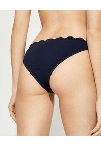MARYSIA SWIM - Dół od bikini Swimclean Santa Barbara. Kolor: niebieski. Materiał: nylon, tkanina, materiał