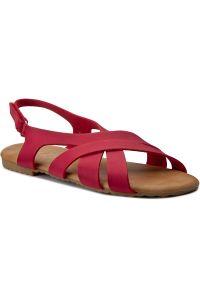 Czerwone sandały Magic Lady na lato