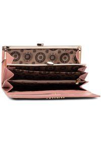 Różowy portfel Peterson
