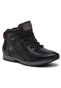 Czarne buty zimowe Go Soft na co dzień, z cholewką