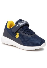 U.S. Polo Assn - Sneakersy U.S. POLO ASSN. - Carl CARL4092S1/MY1 Navy. Okazja: na co dzień. Zapięcie: rzepy. Kolor: niebieski. Materiał: materiał. Szerokość cholewki: normalna. Styl: casual