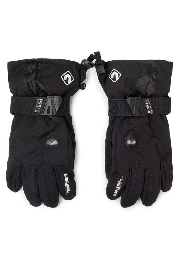 Czarna rękawiczka sportowa Level snowboardowa