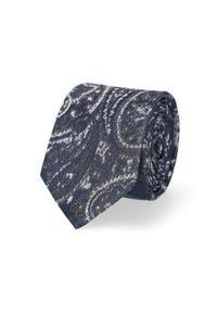 Lancerto - Krawat Mixkolor Paisley. Materiał: mikrofibra, materiał. Wzór: paisley. Styl: elegancki