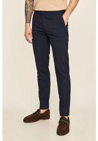 Niebieskie spodnie Tommy Hilfiger Tailored na co dzień, casualowe