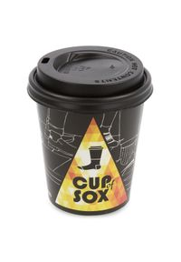 Białe skarpetki Cup of Sox
