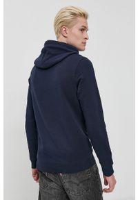 Tom Tailor - Bluza bawełniana. Okazja: na co dzień. Kolor: niebieski. Materiał: bawełna. Wzór: nadruk. Styl: casual