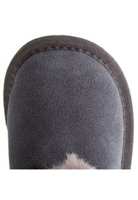 EMU Australia - Buty EMU AUSTRALIA - Toddle B10737 Charcoal/Anthracite. Wysokość cholewki: przed kolano. Kolor: szary. Materiał: skóra, zamsz. Szerokość cholewki: normalna
