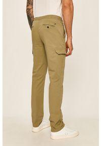 Zielone spodnie TOMMY HILFIGER na co dzień, casualowe