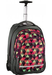 ALL OUT - All Out plecak szkolny na kółkach BOLTON happy triangle 001383170000